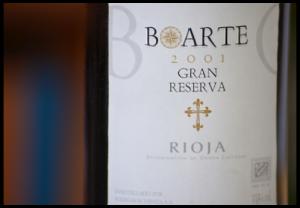 Boarte Rioja 2001